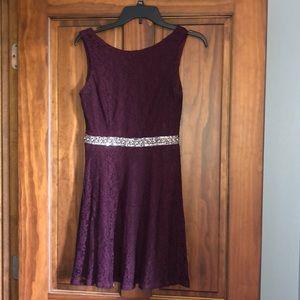 Dresses & Skirts - Purple homecoming dress